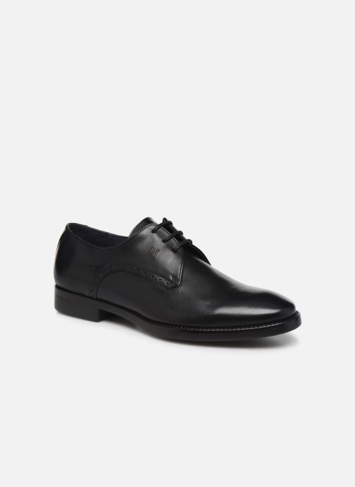 Lace-up shoes Callaghan Neige Black detailed view/ Pair view