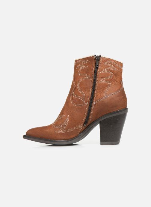 Boots en enkellaarsjes Bullboxer 291502E6L Bruin voorkant
