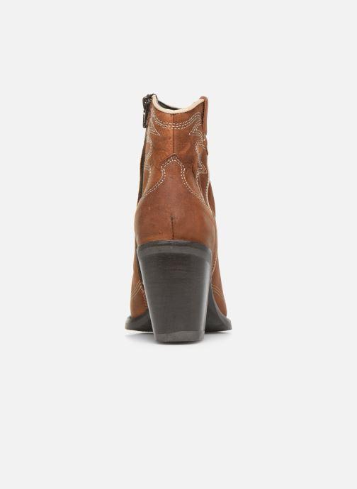 Boots en enkellaarsjes Bullboxer 291502E6L Bruin rechts