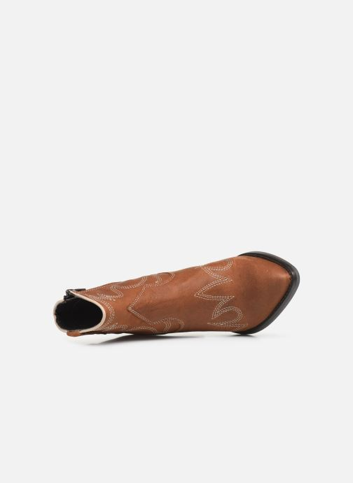 Boots en enkellaarsjes Bullboxer 291502E6L Bruin links