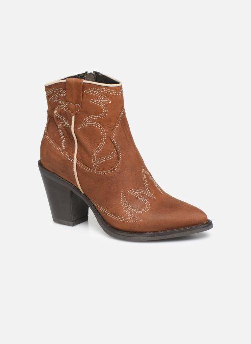 Bottines et boots Bullboxer 291502E6L Marron vue détail/paire