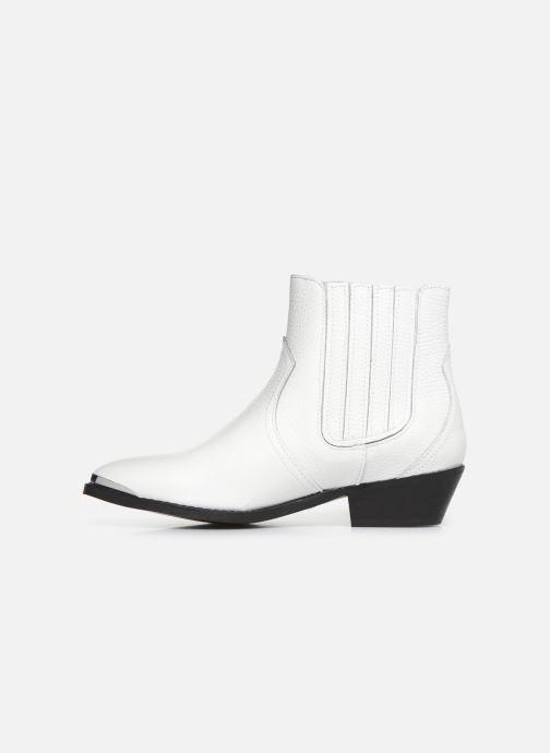 Boots en enkellaarsjes Bullboxer 448504E6L Wit voorkant
