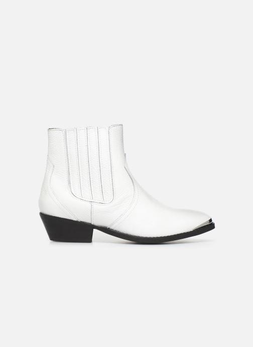 Boots en enkellaarsjes Bullboxer 448504E6L Wit achterkant