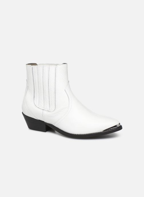 Boots en enkellaarsjes Bullboxer 448504E6L Wit detail