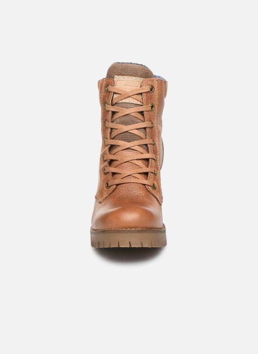 Bottines et boots Bullboxer 772M85063HP120 Marron vue portées chaussures