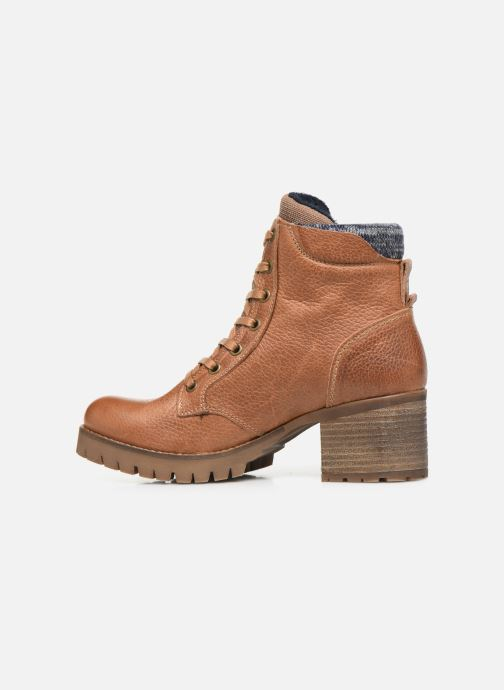 Boots en enkellaarsjes Bullboxer 772M85063HP120 Bruin voorkant