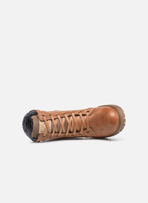 Boots en enkellaarsjes Bullboxer 772M85063HP120 Bruin links