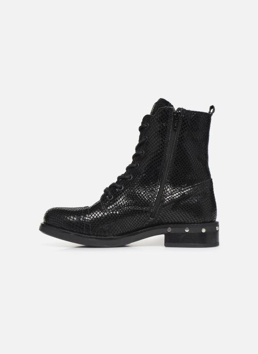 Boots en enkellaarsjes Bullboxer 904571E6C Zwart voorkant