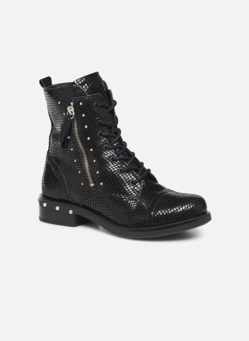 Boots en enkellaarsjes Bullboxer 904571E6C Zwart detail