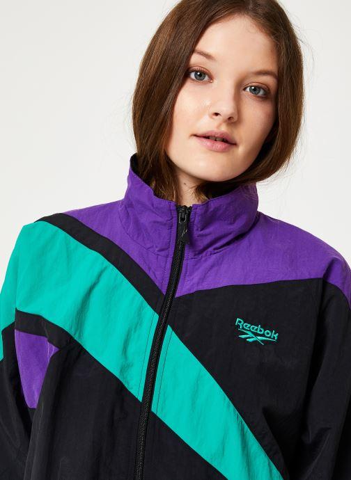 Vêtements Reebok Cl V Cropped Fr Tracktop Noir vue face