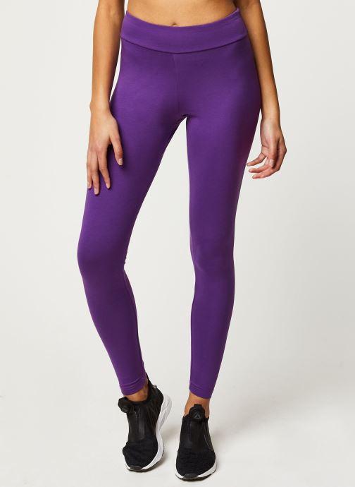 Vêtements Reebok Cl V Logo Vector Legging Violet vue détail/paire