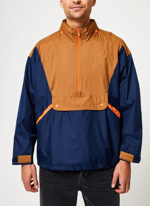 Vêtements Reebok Cl F Trail Jacket Bleu vue détail/paire