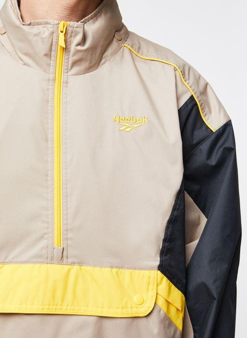 Kleding Reebok Cl F Trail Jacket Beige voorkant