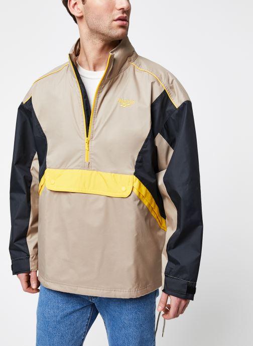 Kleding Reebok Cl F Trail Jacket Beige detail