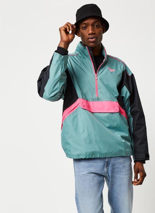 Kleding Reebok Cl F Trail Jacket Groen detail