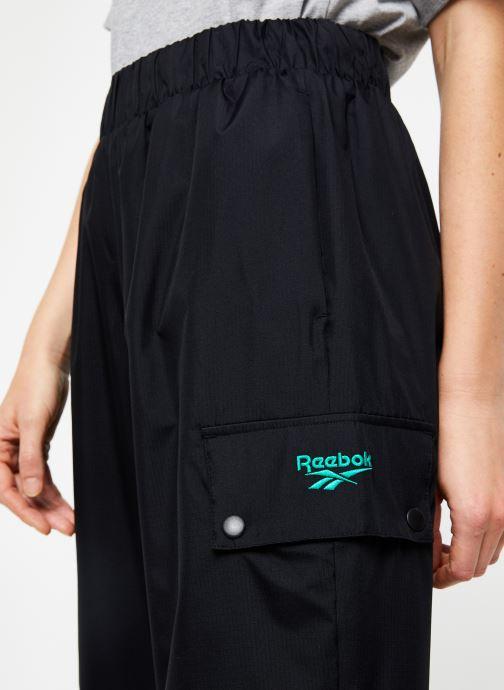 Vêtements Reebok Cl V Trail Trackpant Noir vue face
