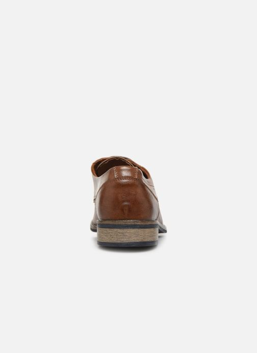 Snøresko I Love Shoes THARIC Brun Se fra højre