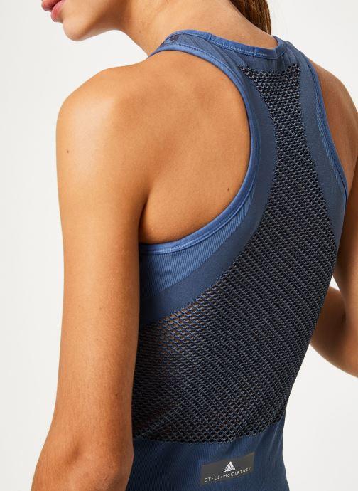 Vêtements adidas by Stella McCartney Tank Bleu vue face