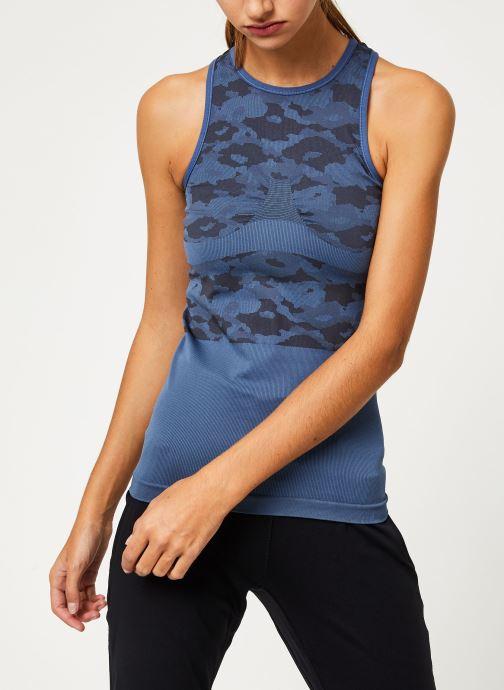 Vêtements adidas by Stella McCartney Tank Bleu vue droite