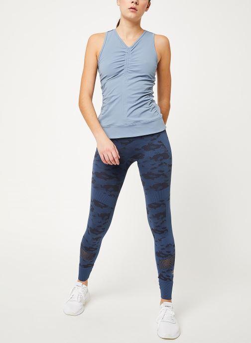 Kleding adidas by Stella McCartney Tight Blauw onder