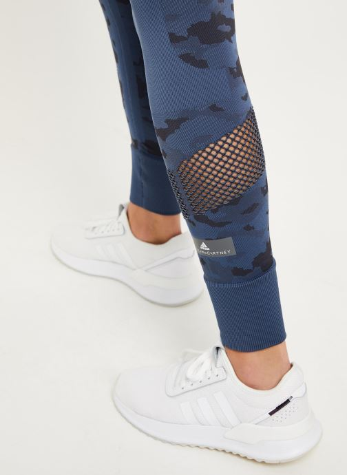 Kleding adidas by Stella McCartney Tight Blauw voorkant