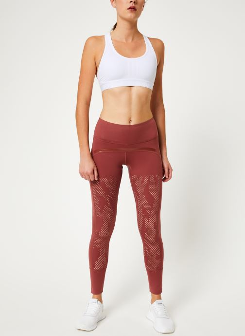 Vêtements adidas by Stella McCartney Tight Rouge vue bas / vue portée sac