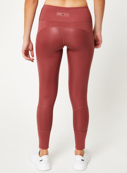 Vêtements adidas by Stella McCartney Tight Rouge vue portées chaussures