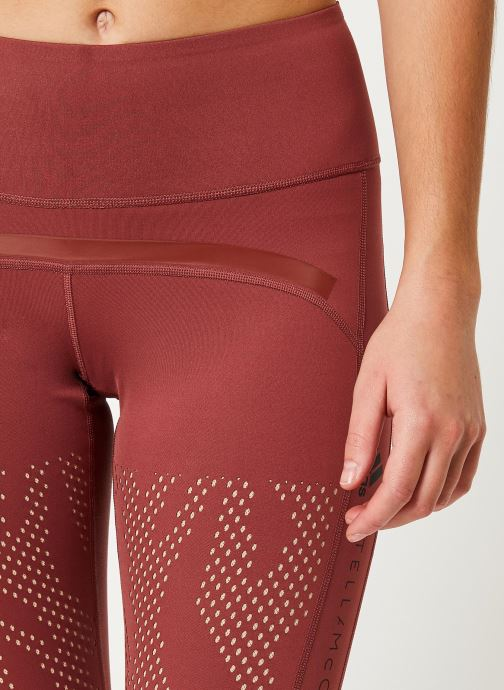 Vêtements adidas by Stella McCartney Tight Rouge vue face