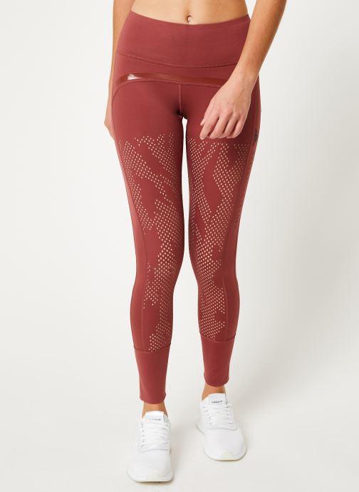 Vêtements adidas by Stella McCartney Tight Rouge vue détail/paire