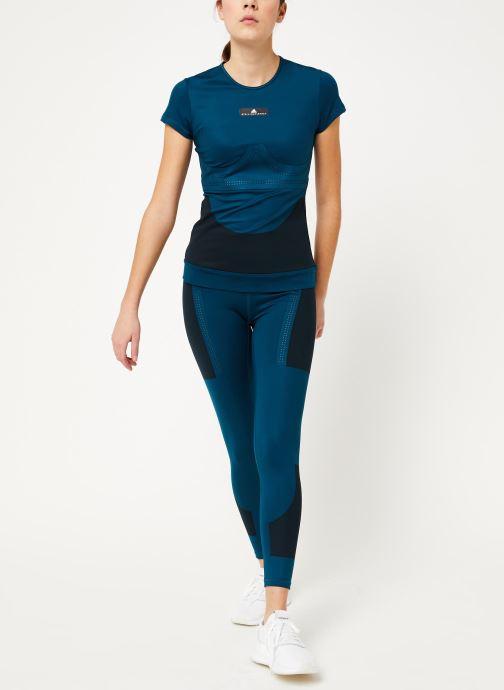 Vêtements adidas by Stella McCartney Tight Bleu vue bas / vue portée sac
