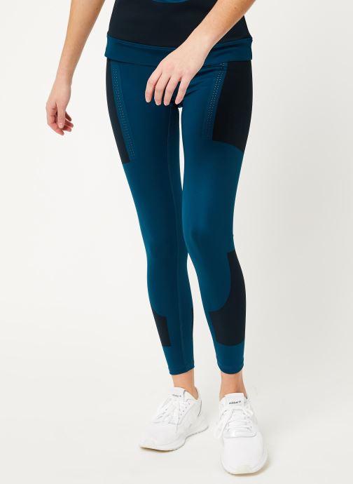 Vêtements adidas by Stella McCartney Tight Bleu vue détail/paire