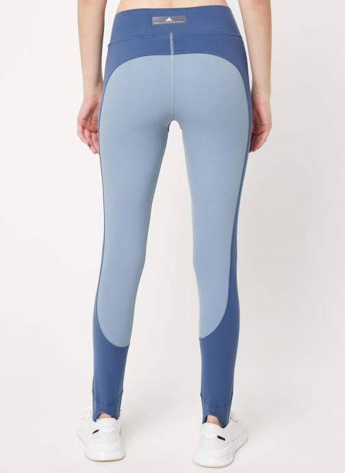 Vêtements adidas by Stella McCartney Tight Bleu vue portées chaussures