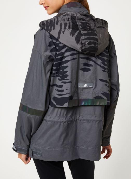 Vêtements adidas by Stella McCartney Jacket Gris vue portées chaussures