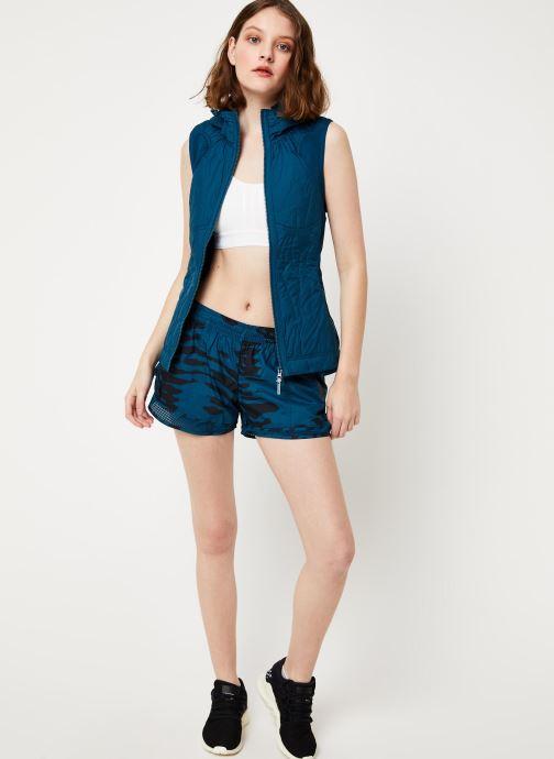 Vêtements adidas by Stella McCartney Run Gilet Bleu vue bas / vue portée sac