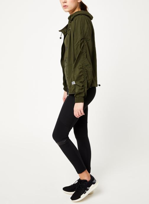Vêtements adidas by Stella McCartney Run Light Jkt Vert vue bas / vue portée sac