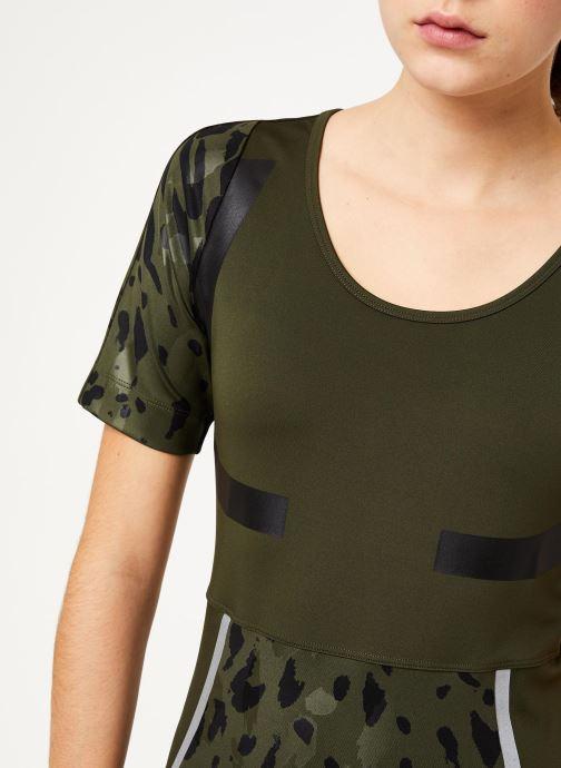 Vêtements adidas by Stella McCartney Run Tee Vert vue face