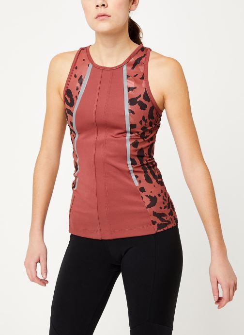 Vêtements adidas by Stella McCartney Run Tank Rouge vue droite