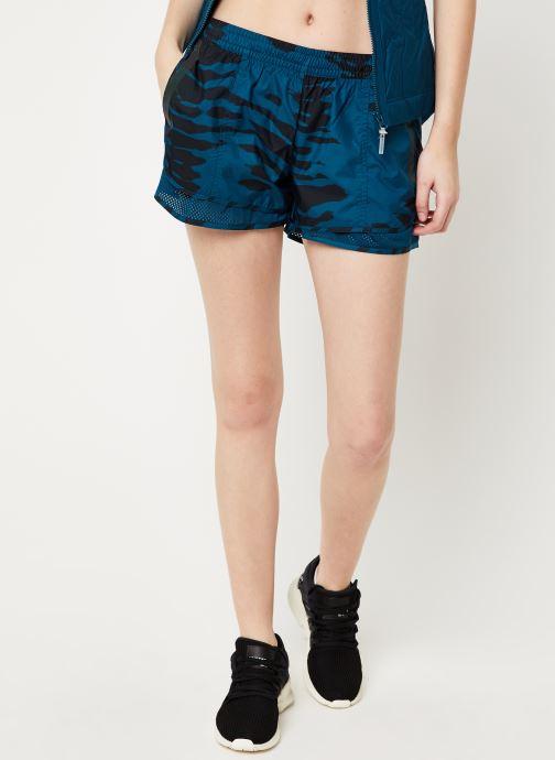 Vêtements adidas by Stella McCartney Run M20 Short Bleu vue détail/paire