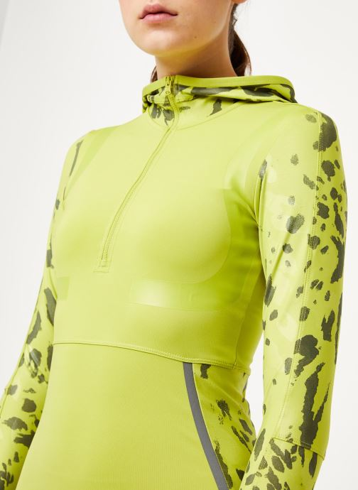 Vêtements adidas by Stella McCartney Run Longsleeve Vert vue face