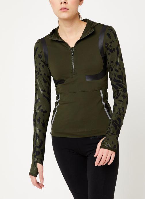 Vêtements adidas by Stella McCartney Run Longsleeve Vert vue droite