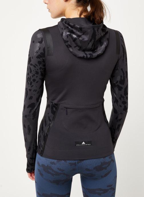 Vêtements adidas by Stella McCartney Run Longsleeve Gris vue portées chaussures