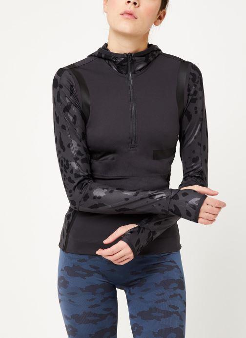 Vêtements adidas by Stella McCartney Run Longsleeve Gris vue détail/paire