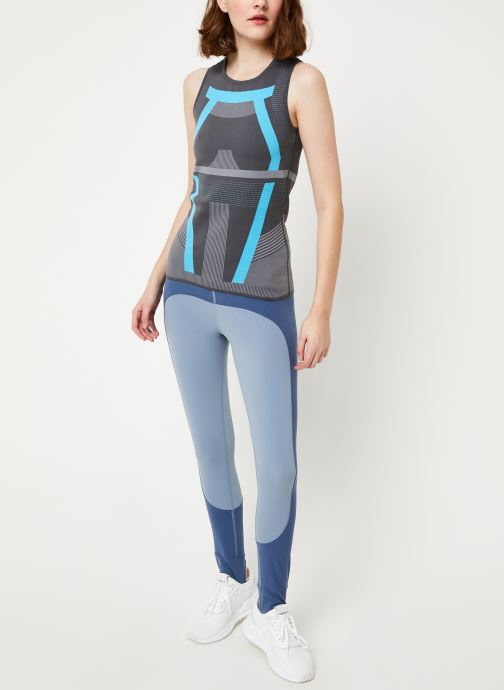 Vêtements adidas by Stella McCartney Run Pk Tank Gris vue bas / vue portée sac
