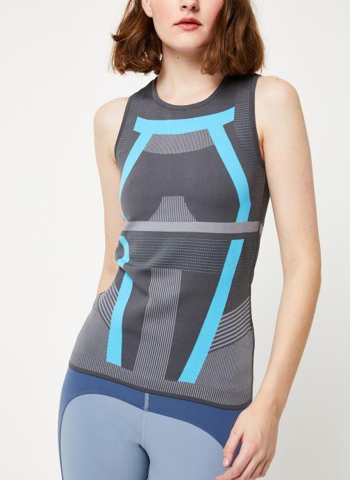 Vêtements adidas by Stella McCartney Run Pk Tank Gris vue détail/paire