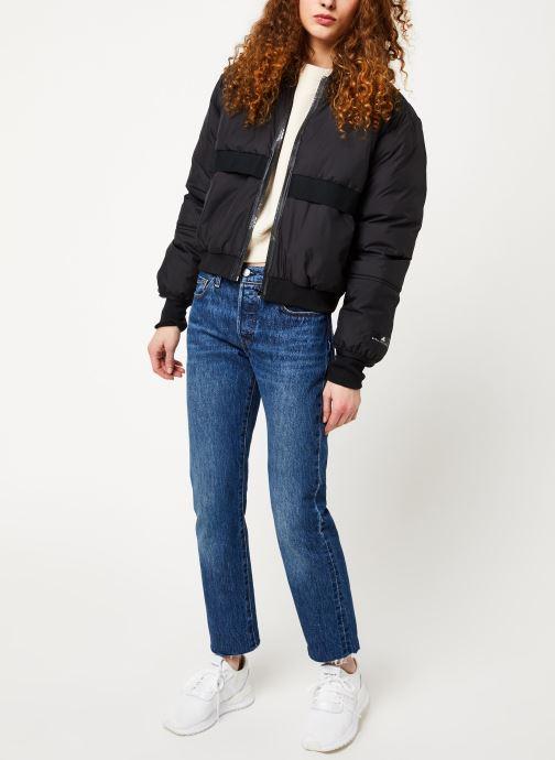 Vêtements adidas by Stella McCartney Padded Bomber Noir vue bas / vue portée sac
