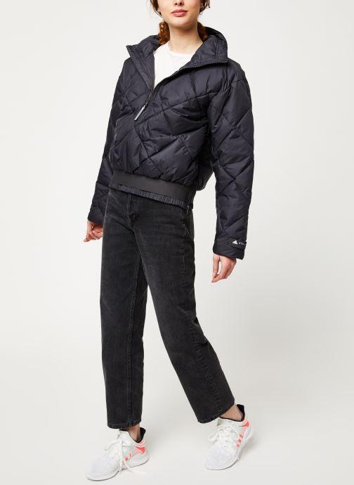 adidas by Stella McCartney Veste de sport - Padded Pull On (Noir) - Vêtements (409321)