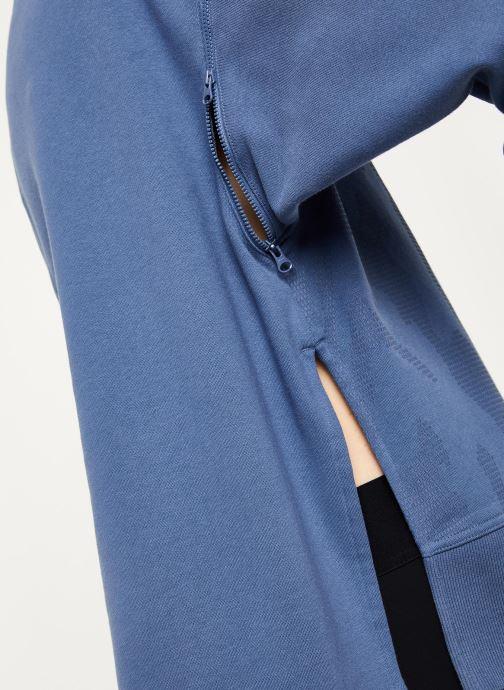 Vêtements adidas by Stella McCartney Sweatshirt Bleu vue face