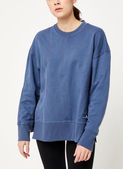 Vêtements adidas by Stella McCartney Sweatshirt Bleu vue droite