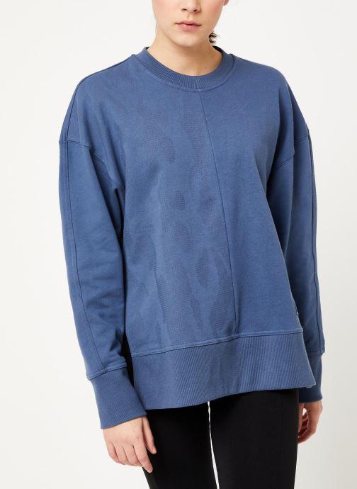 Vêtements adidas by Stella McCartney Sweatshirt Bleu vue détail/paire