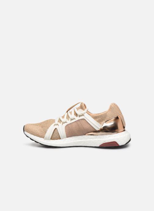 Sneakers adidas by Stella McCartney Ultraboost S. Guld og bronze se forfra